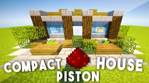 Compact House 9x9 Redstone Piston House Compact U0026 Complex Minecraft Youtube