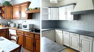 renover cuisine en chene peinture meuble cuisine chene portes chene a cacruser comment
