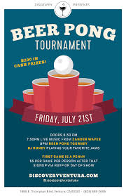 beer pong tournament tickets discovery ventura ventura ca