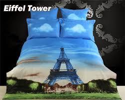 Eiffel Tower Comforter Tower Print Comforter Set