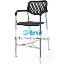 commercial outdoor bar stools stella commercial outdoor aluminum plastic wicker bar stool bar