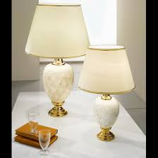 White Ceramic Table Lamps White Ceramic Table Lamp With Gold Guilded Frame U0026 Cream Shade 2
