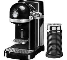 nespresso deals black friday buy nespresso by kitchenaid artisan 5kes0504bob coffee machine