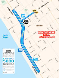 Map Of Carlsbad Ca Carlsbad 5000 Changes Course Toni Reavis