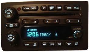 cadillac escalade radio 2003 2004 2005 cadillac escalade factory stereo 6 disc changer cd