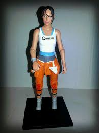 portal jumpsuit the epic review figure review portal 2 s chell from neca