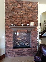 refacing stone fireplace cobblestone with tile pictures remodel