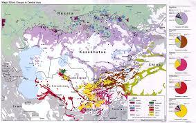 Population Density Map Us The Global Intelligence Files Re Turkmenistan Population