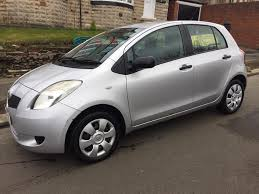 toyota yaris 2007 5 doors silver 11mnths mot in sheffield