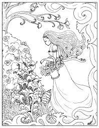 art deco coloring pages art nouveau coloring pages flower