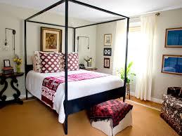 Ikea Four Poster Bed Bedroom Light Blue Walls Bed Knobs Black Metal Bed Crown Molding