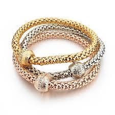 rose gold plated bracelet images 18k gold silver rose gold plated bracelet eyeconicwear jpg
