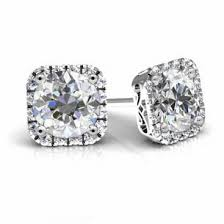 moissanite earrings 13 best moissanite jewelry images on moissanite