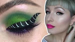 maleficent eyeliner makeup tutorial with vlada haggerty disney