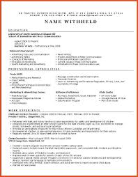 Resume Samples Download For Freshers by Functional Resume Samples Moa Format Marketing For Freshers