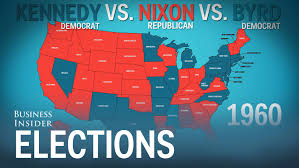 Map Of Red And Blue States by How The States Voted In Every Presidential Election Youtube