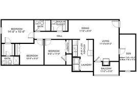 three bedroom floor plans three bedroom with den apartment homes blacksburg va