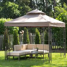 Easy Diy Garden Gazebo by Coral Coast Prairie Grass 8 X 8 Ft Gazebo Hayneedle