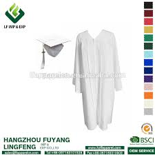 white cap and gown white graduation gown white graduation gown suppliers and