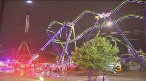 6 Flags Hours Six Flags Roller Coast Leaves Passengers Stranded For Hours Youtube