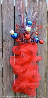mardi gras outlet deco mesh 12 best patriotic wreaths images on patriotic wreath