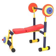 Workout Weight Bench Fun U0026amp Fitness Health Systems For Kids Weight Bench Walmart Com