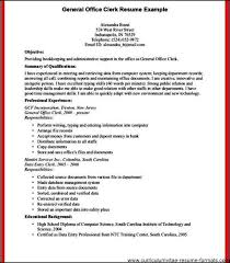 Office Clerk Resume Examples by Office Clerk Resume Free Samples Examples U0026 Format Resume