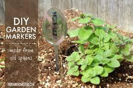 garden markers diy spoon garden markers the prairie homestead