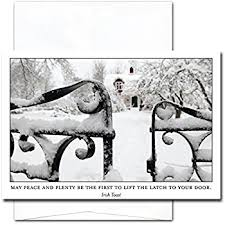 most wonderful day new year cards box of