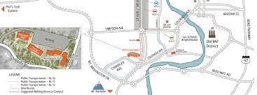 maps and directions osu cascades oregon state