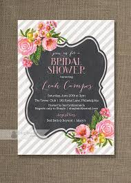 make your own bridal shower invitations floral bridal shower invitations cloveranddot