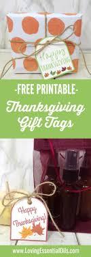 free printable thanksgiving gift tags loving essential oils