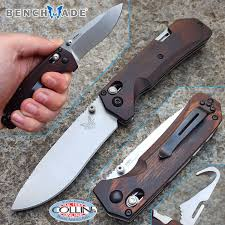 benchmade grizzly creek folder wood axislock 15060 2 knife knife