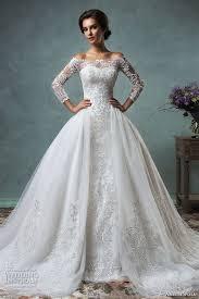 Off The Shoulder Wedding Dresses 27 Off The Shoulder Wedding Dresses That Are Absolutely Timeless