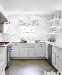 Gray And White Kitchen Ideas 53 Best Kitchen Backsplash Ideas Tile Designs For Kitchen