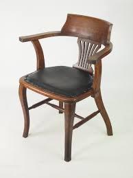 oak desk chair or captains chair antiques atlas