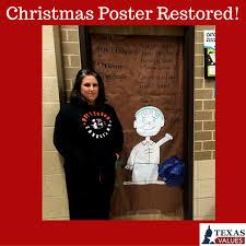 brown christmas poster brown christmas poster restored in school values