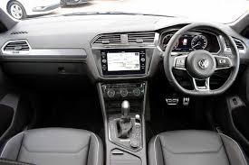 volkswagen tiguan black interior used 2017 volkswagen tiguan 2 0 tdi 190ps 4wd r line 4motion s s