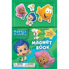 bubble guppies magnet book golden books