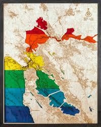 san francisco map painting large san francisco bay pride 3d wood map tahoe wood maps