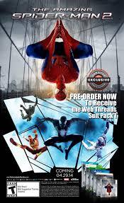 amazing spider man 2 gamestop pre order bonuses include