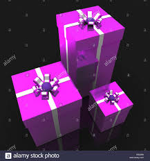 giftboxes celebration meaning present presents and wrapped stock