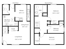 town house floor plans creative idea 7 4 bedroom townhouse floor plans townhouses plans