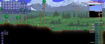 All Items Map Terraria Super Terraria World Mmorpg Style Client And Server Mod Tshock