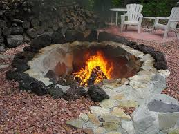Large Fire Pit Ring by Inground Fire Pit Ring Backyard Inground Fire Pit U2013 The Latest