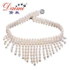 meaning pearl necklace images Buy daimi 4 5mm freshwater pearl shinny crystal jpg