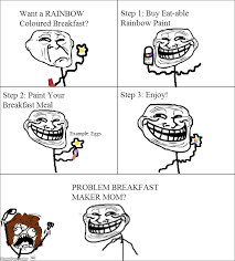 Meme Rage Maker - ragegenerator rage comic breakfast troll science
