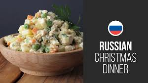 olivier cuisine olivier salad stolichny salad dinner