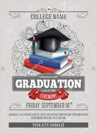 graduation ceremony invitation sle graduation invitations free premium templates