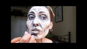 3d face sketch makeup youtube
